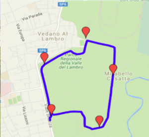 Mappa run 8 nov 2015