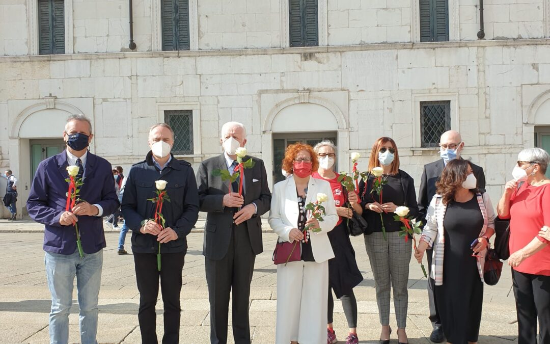 28 maggio 2021 Commemorazione in Piazza Loggia